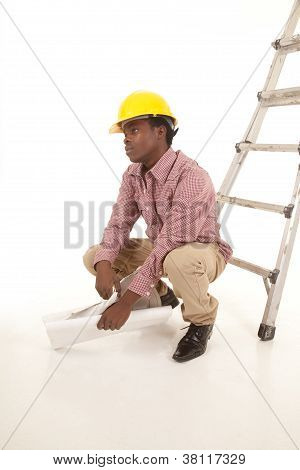 Hard Hat Sit Tired
