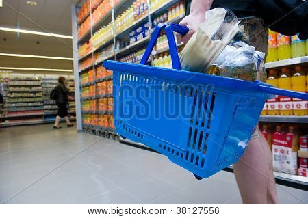 Shopping In Supermarket
