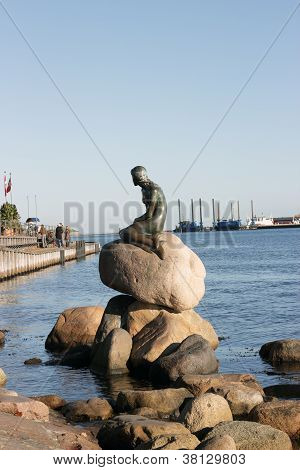 Mermaid statue