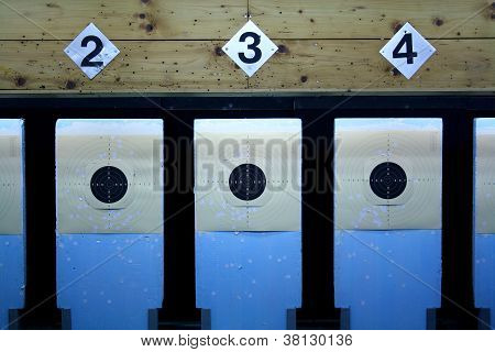 Three Rifle Target