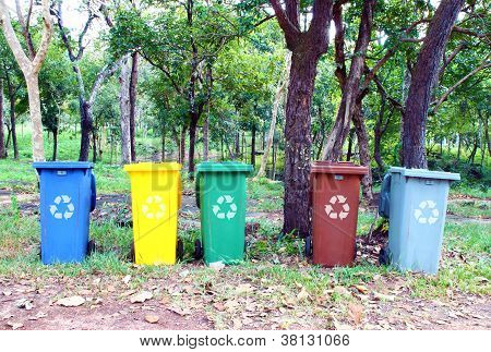 Five Colors Recycle Bin