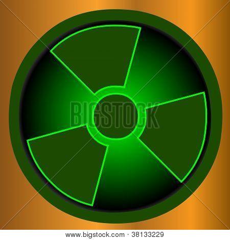 Icono radioactivo