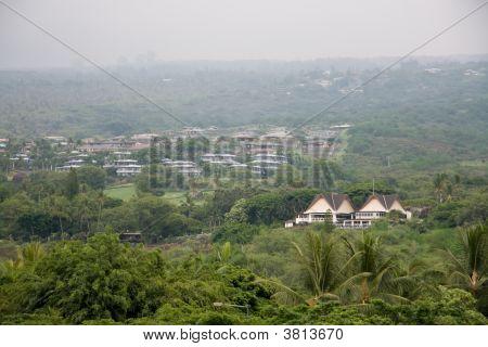 Hotel On Landscape