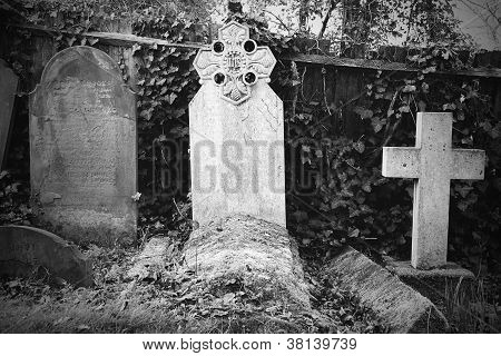 Vintage Grave Markers