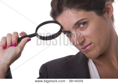 Detective Businesswoman