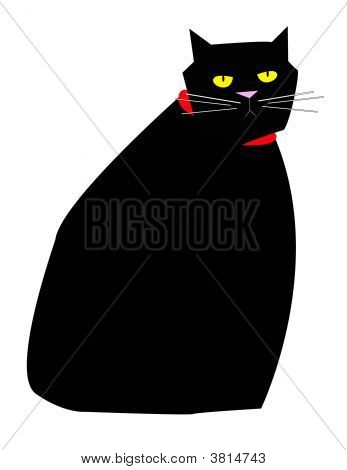 I\'m Not Scared Black Cat