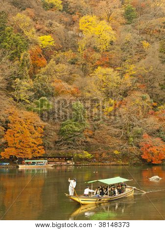 Boating In Arashiyama