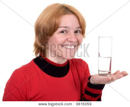 The Girl With A Water Glass