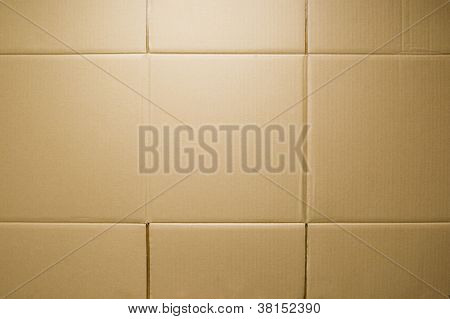 Brown Kraft paper background.