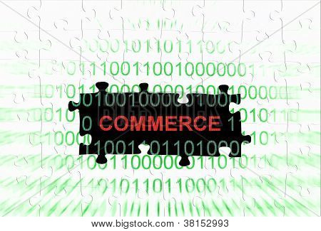 Commerce Puzzle Concept