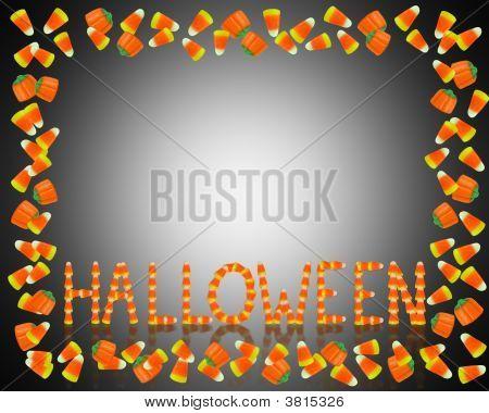 Halloween Candy Frame