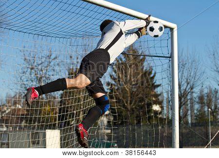 Portero de fútbol soccer