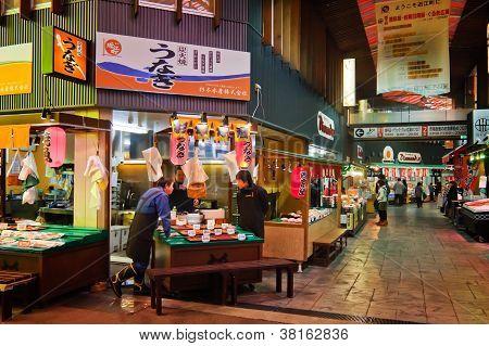 Mercado de Omicho, Kanazawa