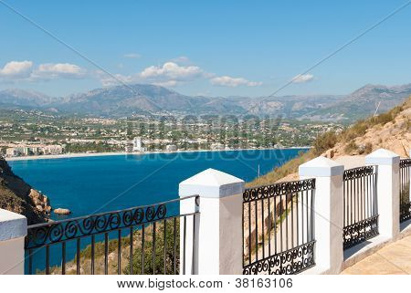 Viewpoint Over Altea Bay