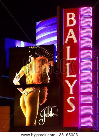 Bally's Las Vegas Sign