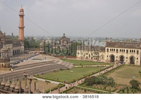 Gardens Of The Bara Imambara, Lucknow