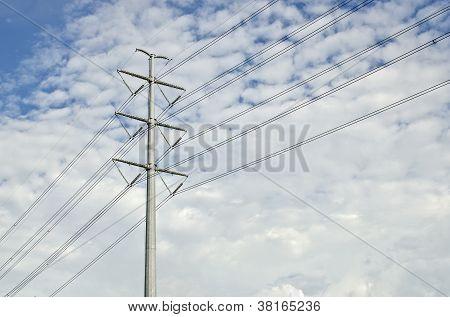 A Rare Concrete Power Line 250Kv