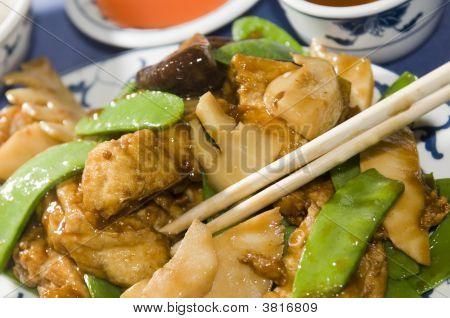 Tofu-Tofu in chinesischen restaurant