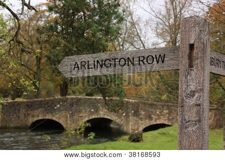 Showing The Way To Arlington Row