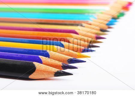 Colorful Pencil Aligned