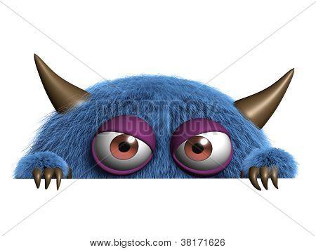 Cute Furry Alien