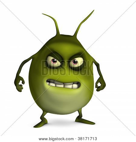 Cute Computer Bug