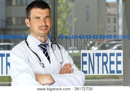 Young Handsome Doctor