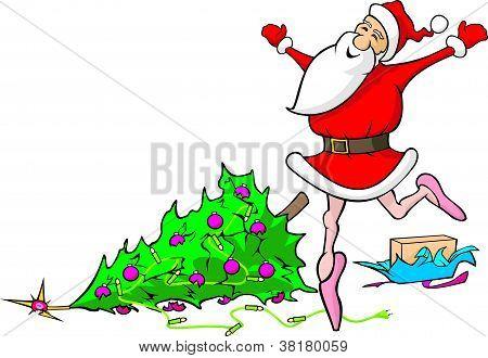 lost in dancing santa claus - demolished christmas