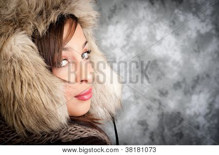 winter portrait
