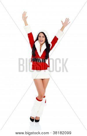 menina de Natal