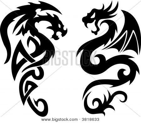 Dragon Tatoos