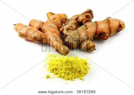 turmeric powder and turmeric