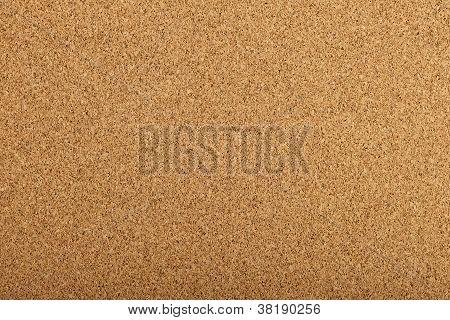 Corkboard Texture With A Fine Grain