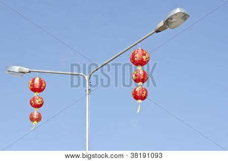 2 Sets Of High Chinease Lantern