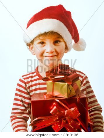 Boy And Presents