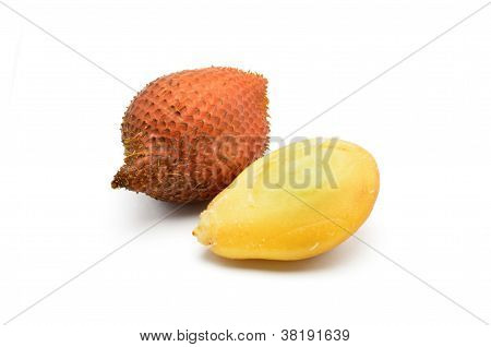 Peeled Salacca Fruit