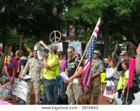 Stop The War/Impeach Bush/Cheney Rally