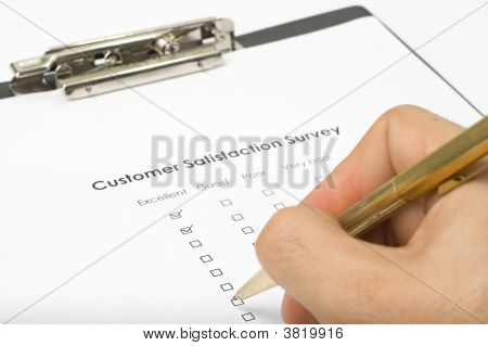 Checklist Questionnaire Quality Of Service