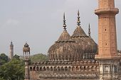 image of imambara  - Mosque at the 18th Century Bara Imambara complex in Lucknow Uttar Pradesh India - JPG