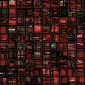 Jumbled Shiny Glass Tiles