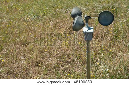 Anemometer On The Ground