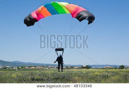 Landing Aproaching