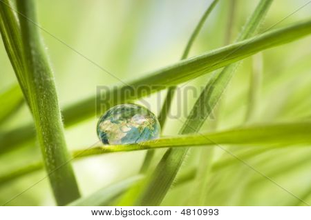 The Earth In A Drop