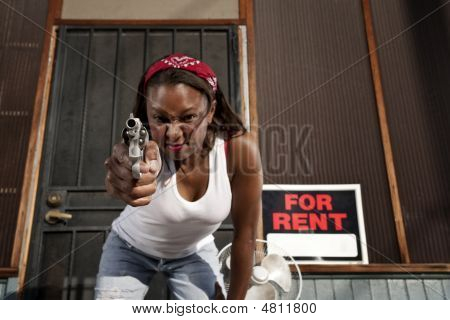 Woman With Gun