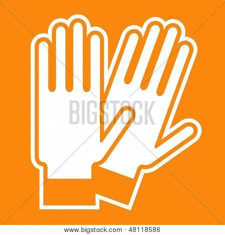 Gloves Sign