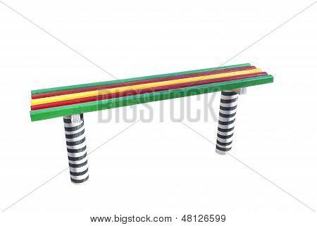 Varicoloured Bench