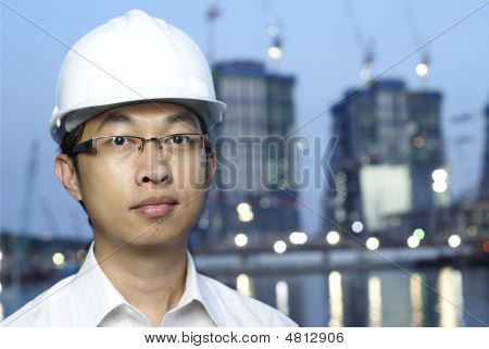 Asian Construction Engineer
