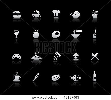 Food Icons - Set 1 // Silver Series