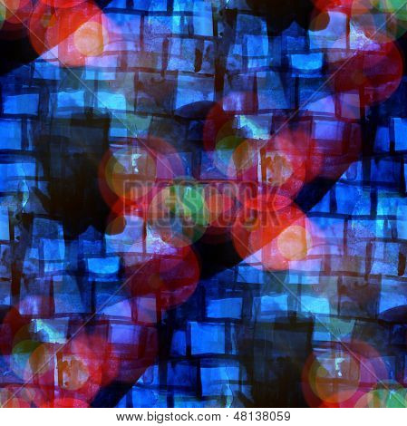 sunlight seamless cubism abstract art blue Picasso texture water
