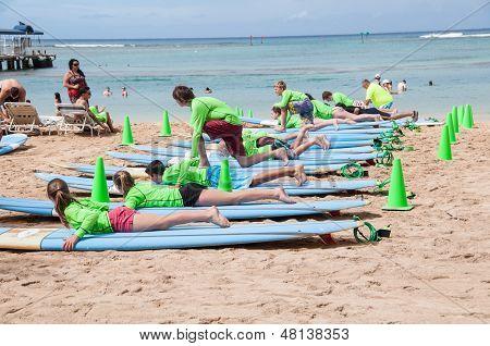 Learning to Surf, Waikiki